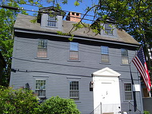 Goddard and Townsend - 18th century home of the Goddard family on Second Street in the Easton's Point neighborhood of Newport, Rhode Island