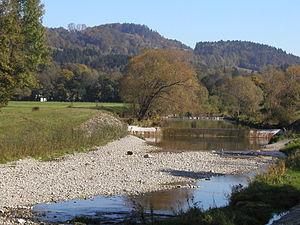 Gölsen - The gravel banks of the Gölsen