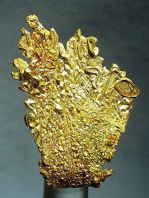 Breckenridge, Colorado - Gold specimen from Farncomb Hill, Breckenridge
