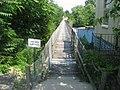 Goose Creek Foot Bridge, western end.jpg