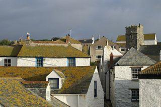 Gorran Haven village in the United Kingdom