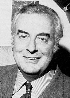 Gough Whitlam Australian politician, 21st Prime Minister of Australia