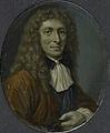 Goverd Bidloo (1649-1713), dichter en hoogleraar in de geneeskunde te Leiden Rijksmuseum SK-A-4614.jpeg