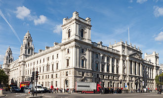 HM Revenue and Customs - Headquarters are at 100 Parliament Street, Westminster
