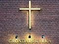 Gröndals kyrkas kors, nov 2020.jpg