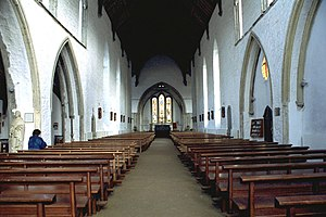 Graiguenamanagh - Image: Graiguenamanagh Nave 1997 08 27