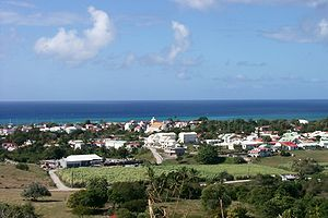 Grand-Bourg - A view of Grand-Bourg, on Marie-Galante