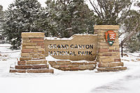Grand Canyon National Park, South Rim sign.jpg