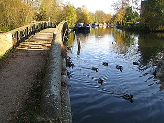 Batchworth - Image: Grand Union Canal in Rickmansworth geograph.org.uk 603417