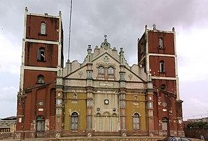Religion in Benin - Image: Grande mosquee porto novo