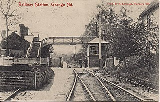 Grange Road railway station former railway station in Tunbridge Wells, England