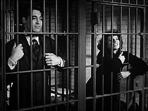 Bringing Up Baby - David and Susan in jail.