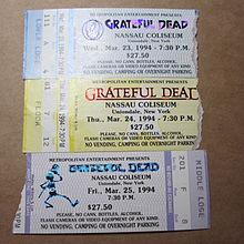 Grateful Dead Tour Daes