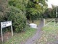Gravel Pit Lane, off Bexley Road, Eltham - geograph.org.uk - 1557660.jpg