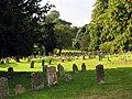Graveyard in Farmland at Speen - geograph.org.uk - 50318.jpg