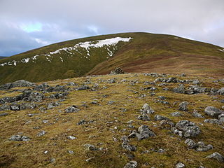 Great Dodd mountain in United Kingdom