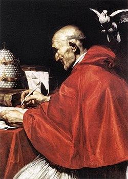 Hasil gambar untuk Santo Gregorius I, Paus dan Pujangga Gereja
