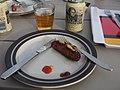 Grilled sausage and beer.jpg