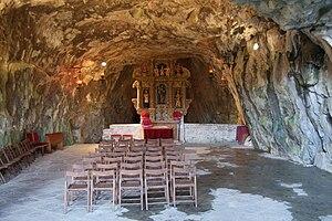 Pulfero - Image: Grotta San Giovanni d'Antro 0904 1