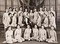 Gruppfoto kvinnliga elever vid Gymnastiska Centralinstitutet Stockholm 1937-39 gih0122.jpg