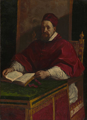 Papal conclave, 1621 - Image: Guercino Pope Gregory XV (ca. 1622 1623) Google Art Project