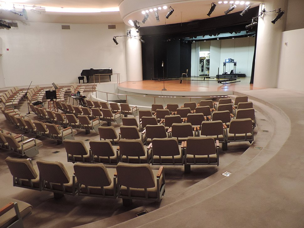 Gugenheim theater from back jeh