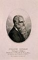 Guillaume Rondelet (Rondeletius). Stipple engraving by A. Ta Wellcome V0005077.jpg