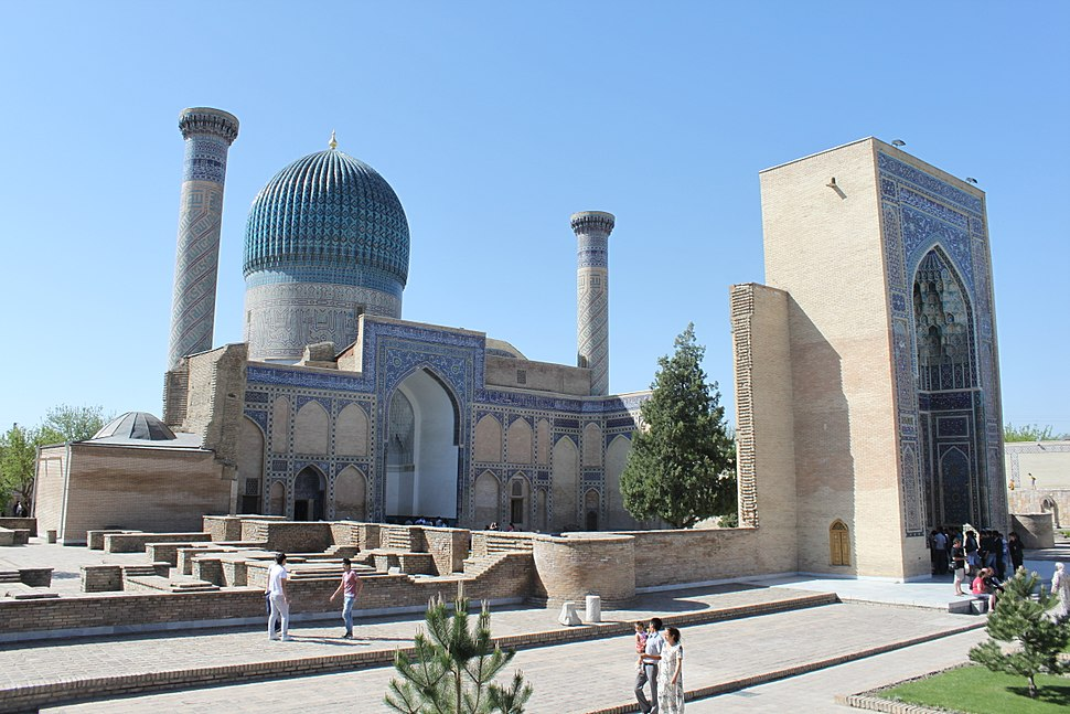 Gur-e Amir - Exterior views 998