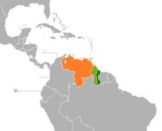 Guayana Esequiba Disputed territory in South America
