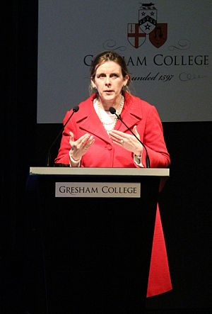 Gwen Adshead - Gwen Adshead delivering a Gresham College lecture in February 2015
