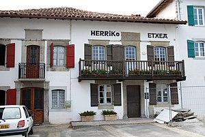 Hélette - The town hall of Hélette