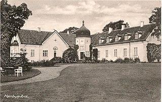 Hørbygaard Historical property near Copehnhagen, Denmark