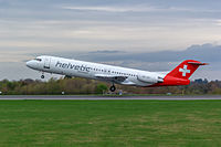 HB-JVC - F100 - Helvetic Airways