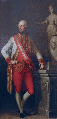 Joseph II. um 1776 (Gemälde von Joseph Hickel) (Quelle: Wikimedia)