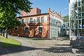 HH-Barmbek Eingangsbauwerk der ehemaligen Margarinefabrik Voss von Südosten.jpg