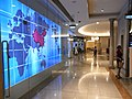 HK 上環 Sheung Wan 新紀元廣場 Grand Millennium Plaza mall corridor BOChina world map June-2012.JPG