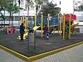 HK North Point City Garden Public Space Playground slides.JPG