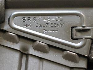 Heckler & Koch SR9 - HK SR9T Receiver.