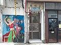 HK SW 上環 Sheung Wan 四方街 Square Street Tai Ming House wall graffiti March 2020 SS2.jpg