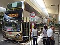 HK Sheung Wan Connaught Road West Queen Street June 2016 KMBus 960 n 961 968 stop signs.jpg