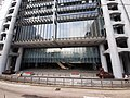HK Tram 92 view 中環 Central 德輔道中 Des Voeux Road Central HSBC HQ Bank front facade morning October 2019 SS2 03.jpg