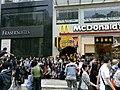 HK Wan Chai 莊士敦道 Johnston Road 輝盛閣 Fraser Suites McDonalds grand open 2010-May 泰昌餅家 Tai Cheong.jpg