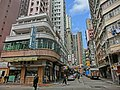 HK Yau Ma Tei Public Square Street 美都餐室 Mido Cafe Temple Street Feb-2014 Waterloo Towers 2.JPG