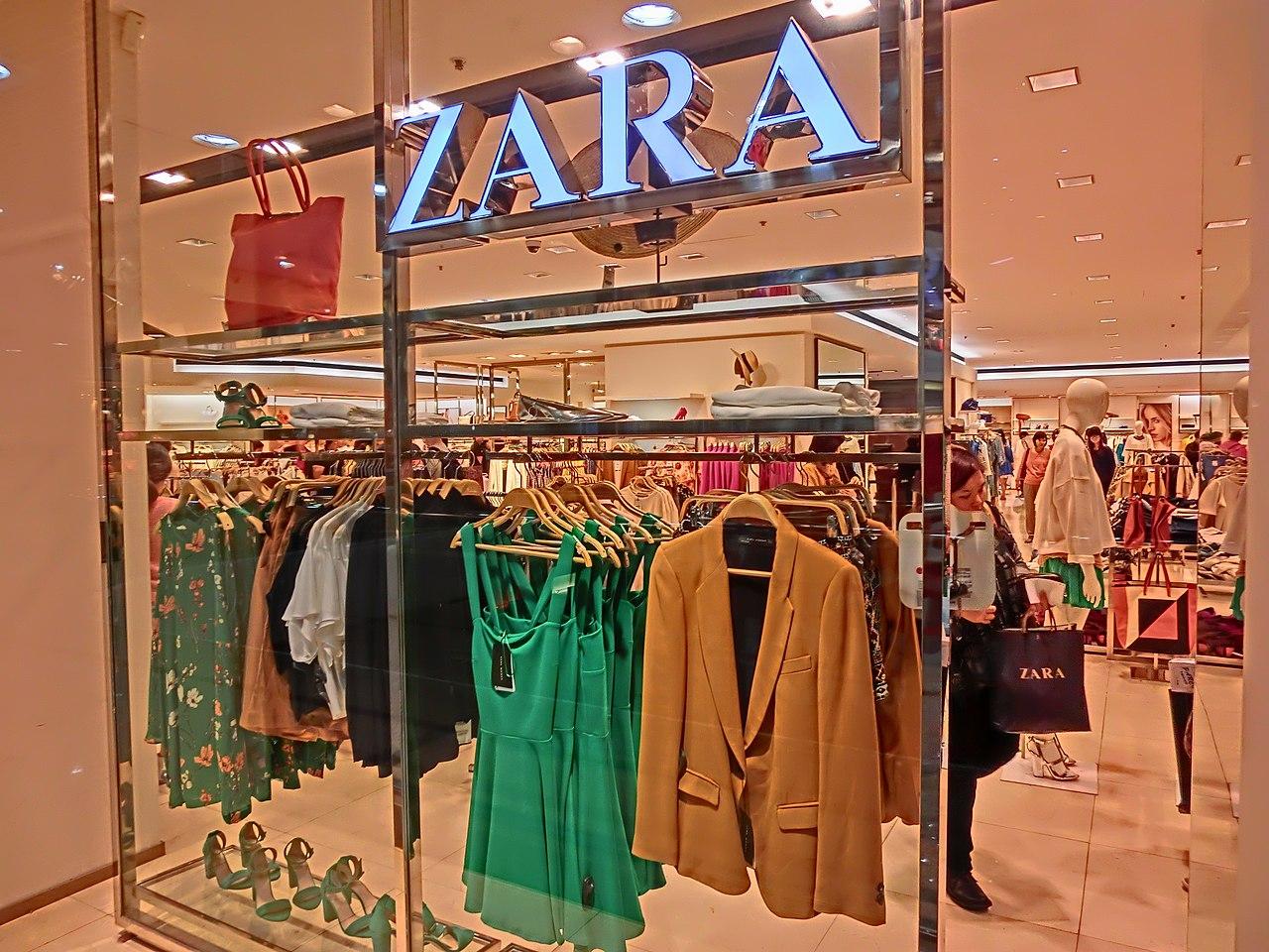 Zara Kids Size Table