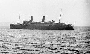 HMS Calgarian (1913) - SS Calgarian
