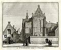 HUA-135830-Gezicht op de Catharijnesteeg te Utrecht vanaf de Lange Nieuwstraat met rechts de St Catharinakerk en gebouwen van het St Catharijneklooster en links .jpg