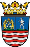 Coat of arms of Győr-Moson-Sopron County