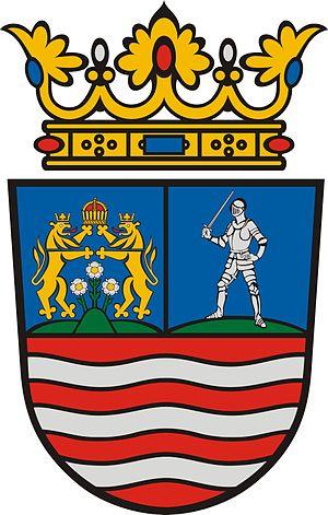 Árpád stripes - Image: HUN Győr Moson Sopron COA