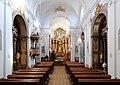 Hadersdorf (Wien) - Kirche Mariabrunn, innen.JPG