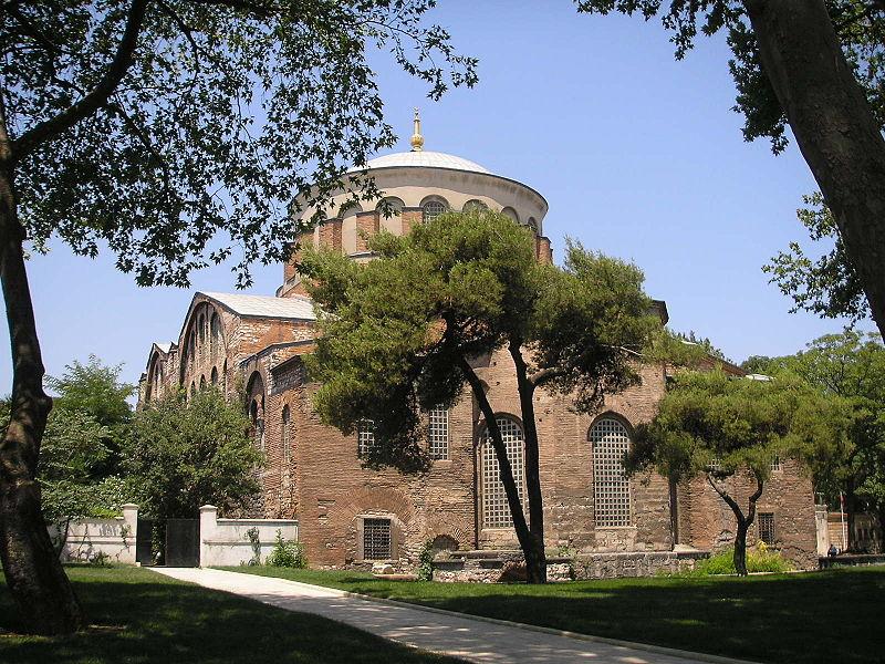 Palatul Topkapî o pagina a istoriei musulmane 800px-Hagia_Eirene_Constantinople_July_2007_001